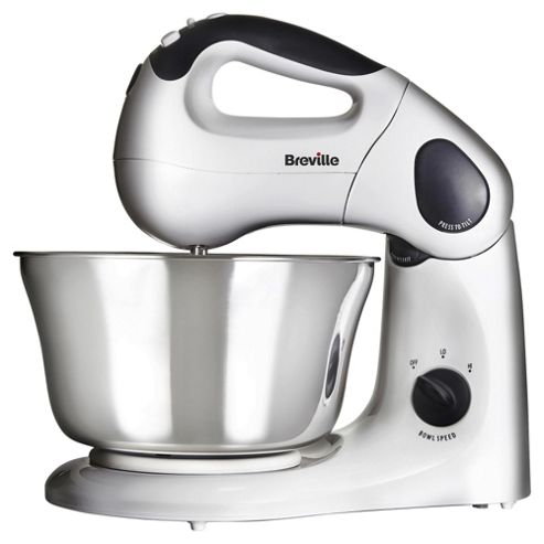 Breville Twin Motor Stand Mixer, VFP026, 380W - White