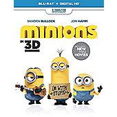 Minions (3D+2D+ UV) Blu-ray