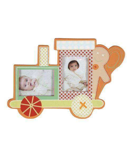 Mamas & Papas - Gingerbread Train - Wooden Photo Frame