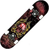 Renner B Series Tribal Skull Complete Skateboard