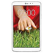 LG G-Pad 8.3 Tablet White