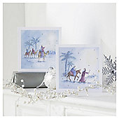 Tesco Religious 3 Kings Christmas Cards, 10 Pack