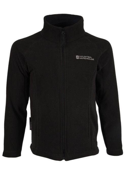 Mountain Warehouse Raso Kids Full Zip Breathable Lightweight Micro Fleece Jumper Sweater