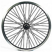 Wilkinson 20 x 1.75 Rear Alloy BMX 48H Wheel in Silver - 14mm