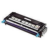 Dell Standard Capacity Cyan Toner Cartridge (Yield 3,000 Pages) for Dell 3130cn Colour Laser Printers
