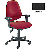 Arista Concept High Back Tilt Operators Chair Charcoal KF03461