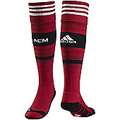 2014-15 AC Milan Adidas Home Football Socks - Red