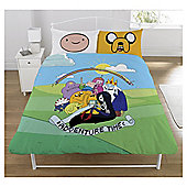 Adventure Time 'Group' double panel Duvet Cover