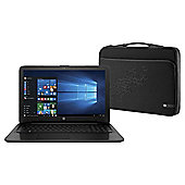 "HP 15-ac144na 15.6"" Intel Core i3 6GB RAM 1TB HDD Black with Sleeve"
