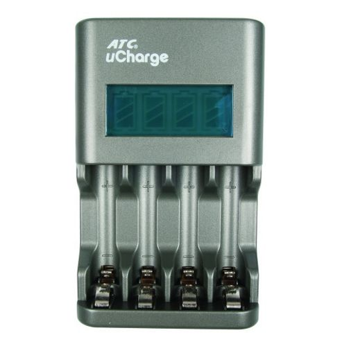 uCharge Battery Charger with LCD screen