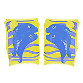 "Dolphin Arm Bands - Yellow 9""x 6"""