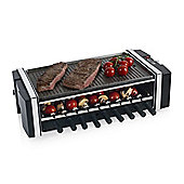 Tower T14020 3 in 1 Reversible Kebab Grill - Black