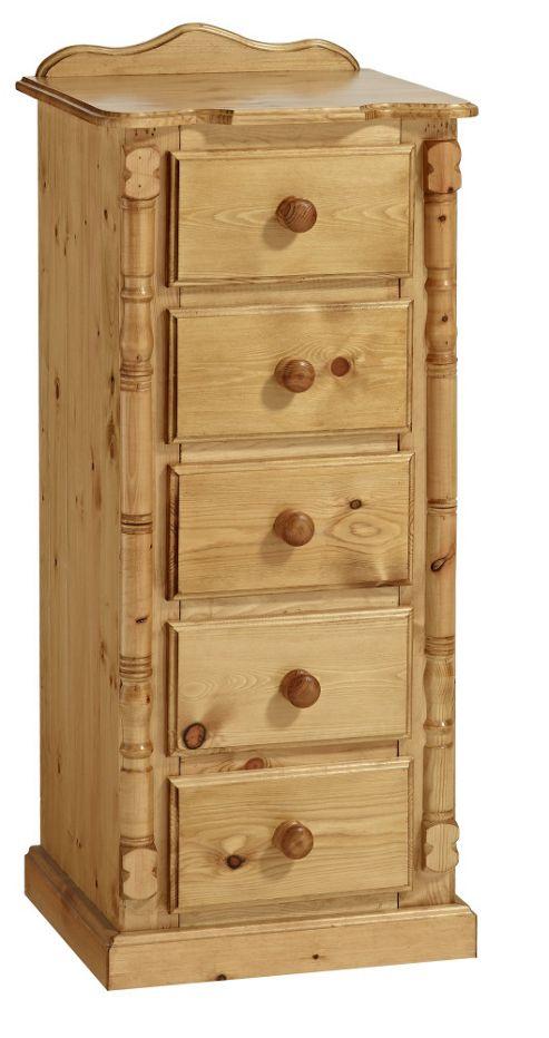 Ideal Furniture Ashley 5 Drawer Slim Chest