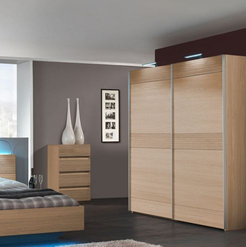 Sleepline Diva Wardrobe with 4 Shelves - 229cm - Without Mirror - Mat Lacquered