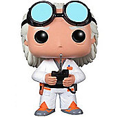 POP! Back to The Future Doc Brown Vinyl Figure - Action Figures