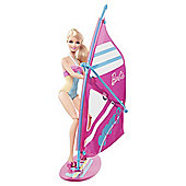 Barbie On The Go Windsurfing Playset
