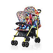 Cosatto Shuffle Tandem Stroller - Pixelate