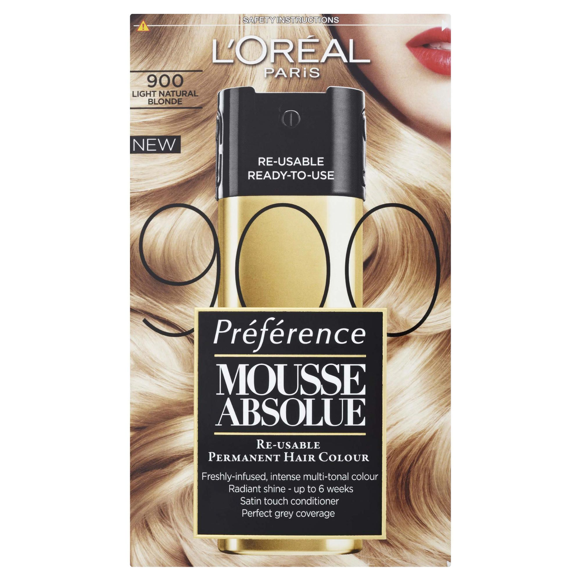L'Oreal  Mousse Absolue Light Natural Blonde 900