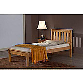 Birlea Denver Low Foot End Bed Frame - Single - Pine