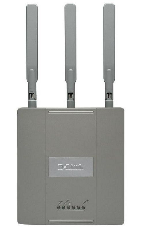 D-Link Systems DAP-2590 AirPremier N Dual Band PoE Access Point with Plenum-Rated Chassis