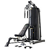Tunturi Pure 6.0 Home Multi Gym Folding with 90kg Weight Stack
