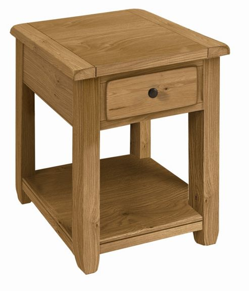 Kelburn Furniture Cherry Creek Oak Small Console Table
