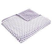 Kingsley Sherbet Lilac Spot Bath Towel
