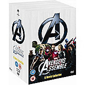 Marvel's The Avengers - 6 Movie Collection (DVD Boxset)