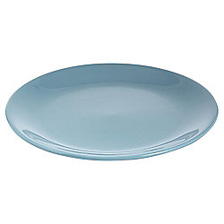 Tesco Basics Dinner Plate, Teal