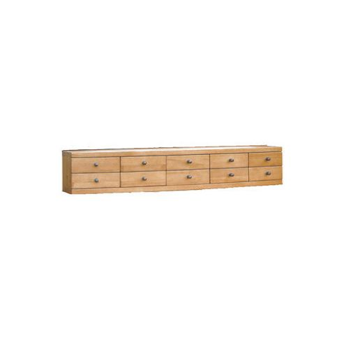 Oceans Apart Cordoba Oak Dresser Compartment - Dark Oak