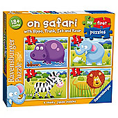 Puzzle - My first Puzzles - On Safari - Ravensburger