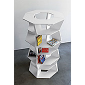 B-LINE Zig Zag Modular Bookcase - Z01 - Wide at top