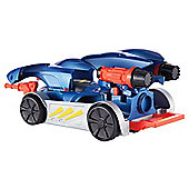 Batman Transform and Attack Batmobile