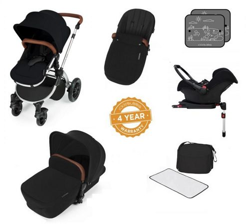 Buy Ickle Bubba Stomp V3 Aio Travel System With 2 X Isofix