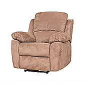 Sofa Collection Constance Recliner Armchair - 1 Seat - Medium Brown