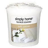 Yankee Candle Votive, Soft Cotton