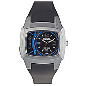 Bench Gents Rubber Strap Watch BC0393BK