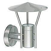 Endon Lighting Flood Light Outdoor Wall Lantern in Stainless Steel