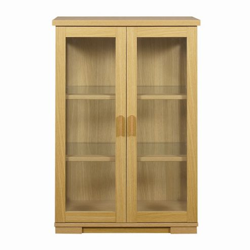 Caxton Huxley China Cabinet in Light Oak