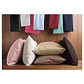 Tesco Twinpack Housewife Pillowcases - Black