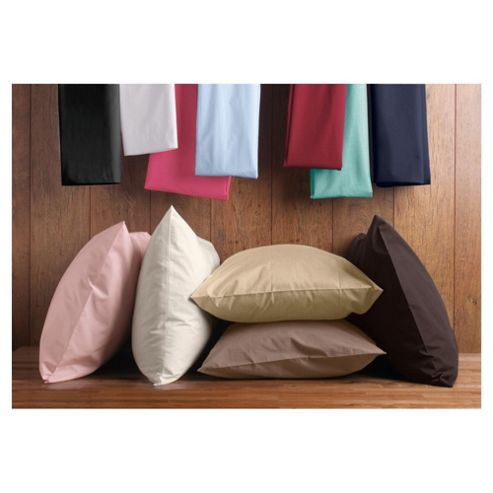 Tesco Twinpack Housewife Pillowcases Black