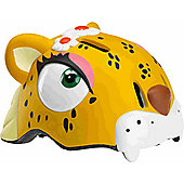 Crazy Stuff Childrens Helmet: Leopard S/M.