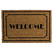 Welcome Coir Door Mat 40 X 60 cm