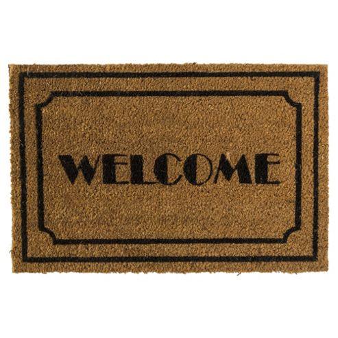 Buy Welcome Coir Door Mat 40 X 60 Cm From Our Door Mats
