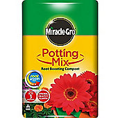 Miracle Gro Potting Mix Root Boosting Compost- 40 Litre