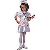 Child Blue Nurse Costume Medium