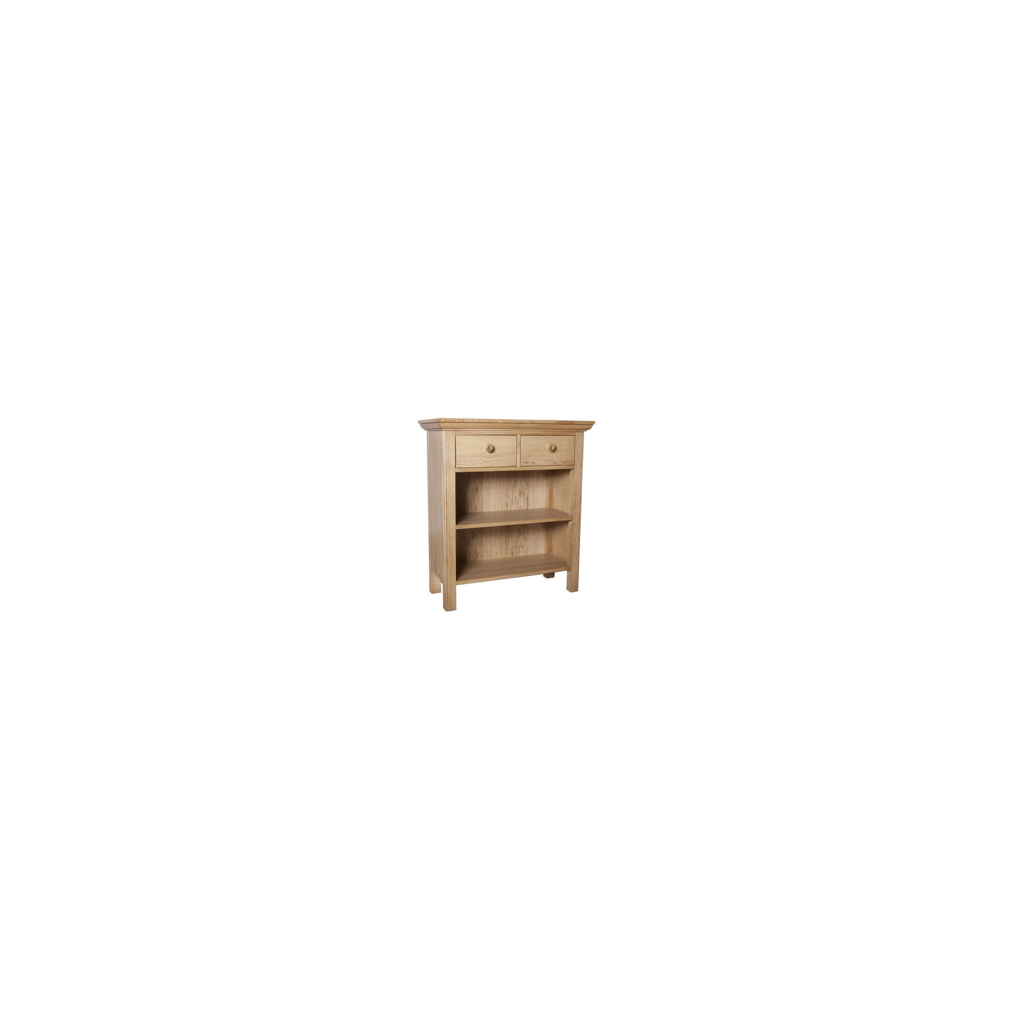 Sherry Designs Simply Dining Oak Low Bookcase at Tesco Direct