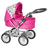 Mamas &Papas Giovarni Dolls Pram - Pink Petal