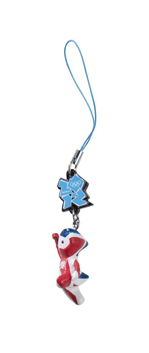 Wenlock Union Flag Charm Accessory - Olympics 2012