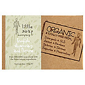 Little Soap Company: Organic Peppermint And Poppyseed Bar Soap